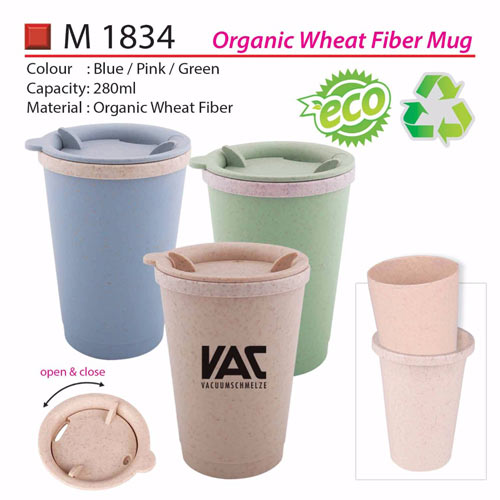 Eco Wheat Fiber Mug (M1834)