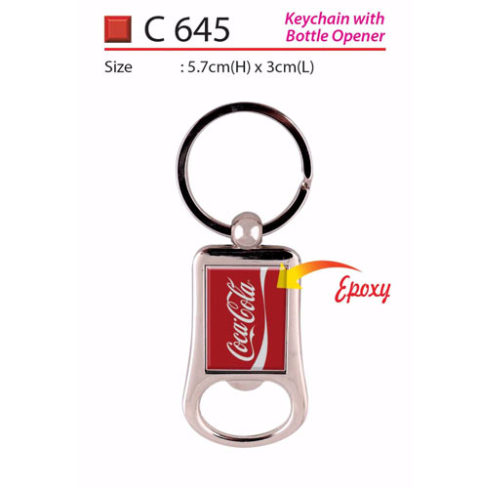 Keychain with Bottle Opener (C645)