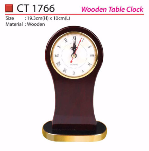 Wooden Table Clock (CT1766)