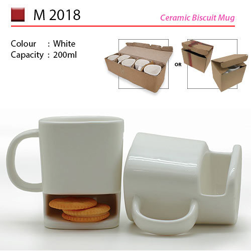 Ceramic Biscult Mug (M2018)
