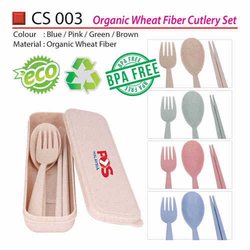 Eco Fiber Cutlery Set (CS003)