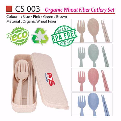 Eco Fiber Cutlery Set (CS003)