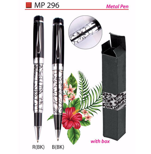 Metal Pen with Box (MP296)