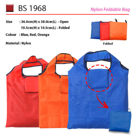 Nylon Foldable Bag (BS1968)