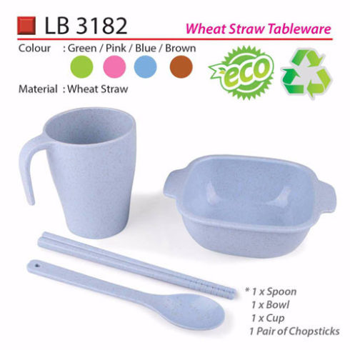 Wheat Straw Tableware (LB3182)