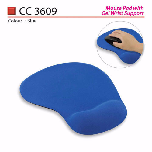 Mouse Pad with Wrist Rest (CC3609)