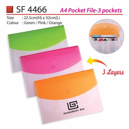 A4 Pocket File (SF4466)