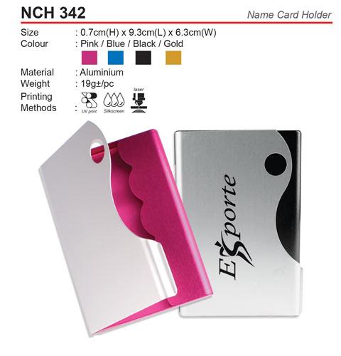 Metal Name Card Holder (NCH342)