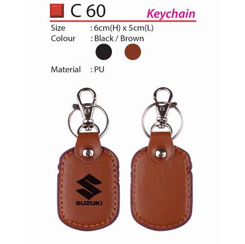 PU Leather Keychain (C60)