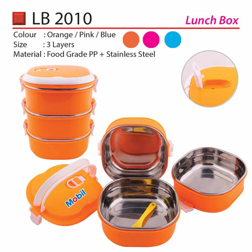 Quality 3 tiers Lunch Box (LB2010)