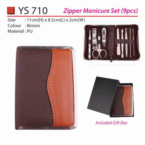 Zipper Manicure Set (YS710)