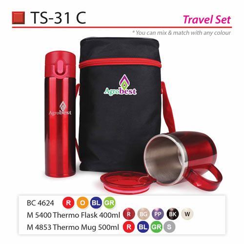 Travelling Thermo flask Set (TS-31C)