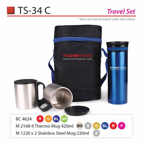 Travel Set (TS-34C)