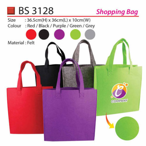 Felt Shopping Bag (BS3128)