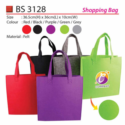 d64145a329a2 Felt Shopping Bag (BS3128)