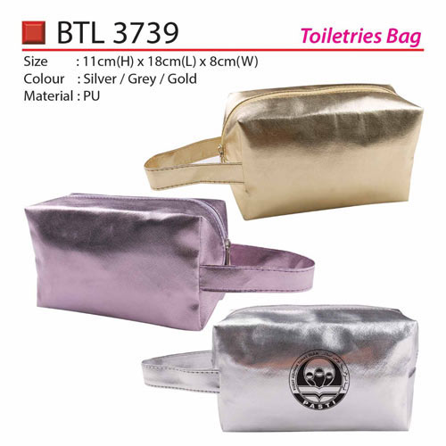 Metallic Toiletries Bag (BTL3739)