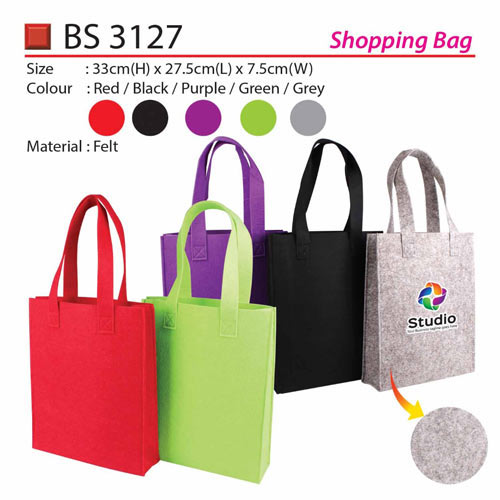 2557e9a9705f Felt Shopping Bag (BS3127)