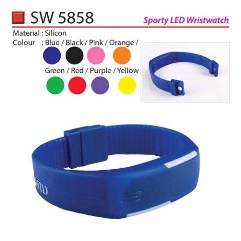 Sporty LED Wristwatch (SW5858)