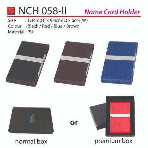 Budget PU Name Card Holder (NCH058-II)