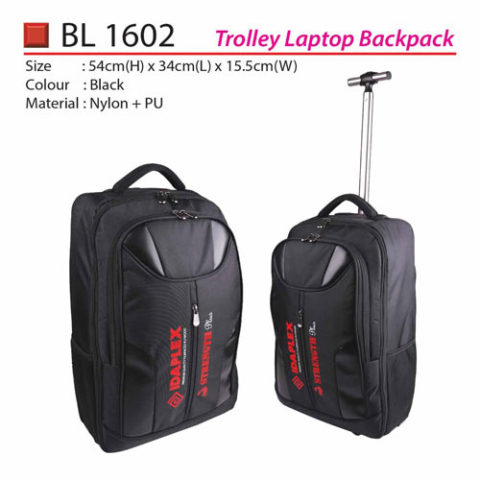 Trolley Laptop Backpack (BL1602)