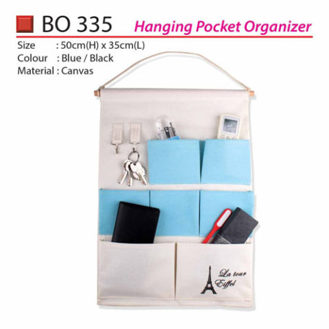 Hanging Pocket Organizer (BO335)