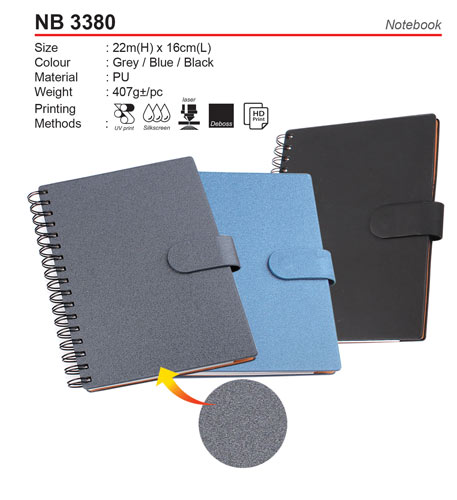 A5 PU Notebook (NB3380)
