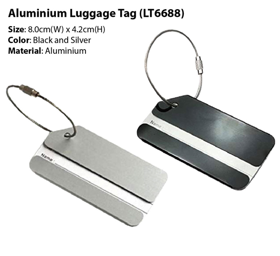 Metal Luggage Tag (LT6688)