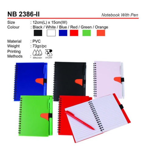 Notebook with pen (NB2386-II)