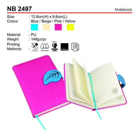 Fancy PU Notebook (NB2497)