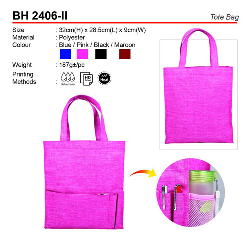 Polyester Tote Bag (BH2406-II)