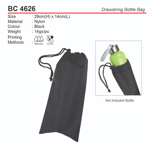 Drawstring Bottle Pouch (BC4626)