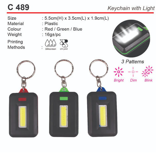 Keychain with Light (C489)