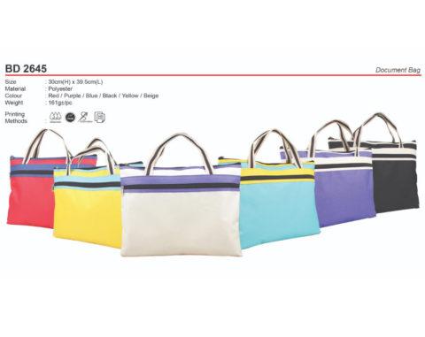 Budget Document Bag (BD2645)