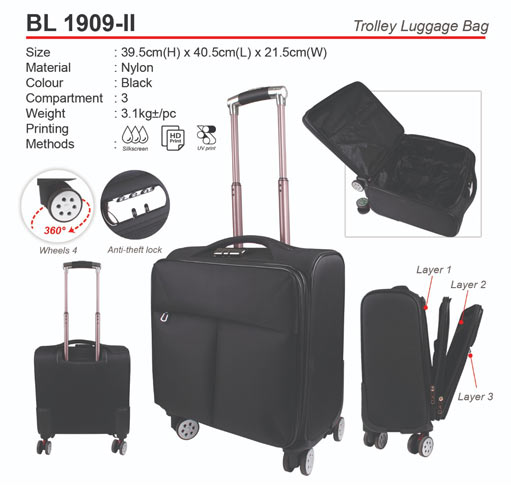 Trolley Luggage Bag (BL1909-II)