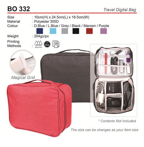 Travel Digital Bag (BO332)