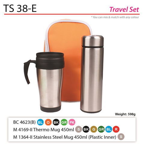 Thermo mug and Bottle Set (TS-38E)