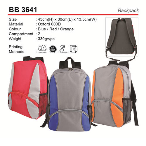 Oxford Backpack (BB3641)