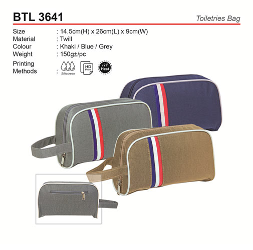 Pattern Toiletries Bag (BTL3641)