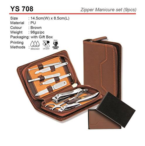 9pcs Zipper Manicure Set (YS708)