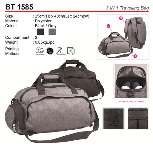 3 in 1 Travelling Bag (BT1585)
