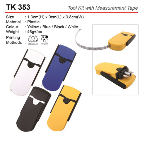 Tool Kit with Measurement Tape (TK353)