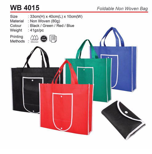 Foldable Non woven Bag (WB4015)