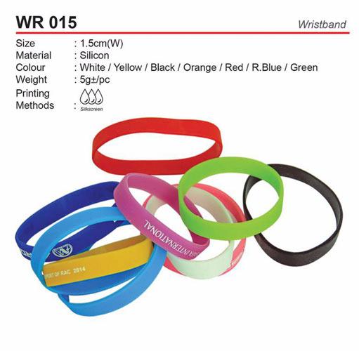 1.5cm Wristband (WR015)