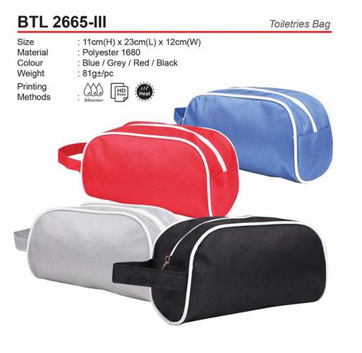 Toiletries Bag (BTL2665-III)