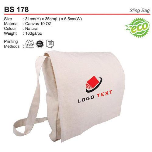 Cotton Sling Bag (BS178)