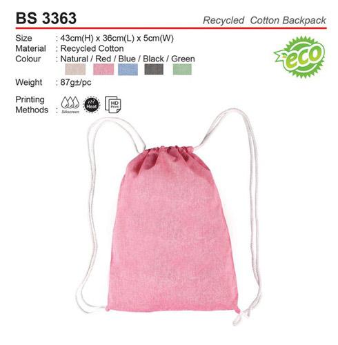 Cotton Sling Bag (BS3363)