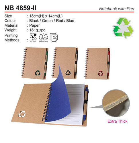 Notebook with pen (NB4859-II)