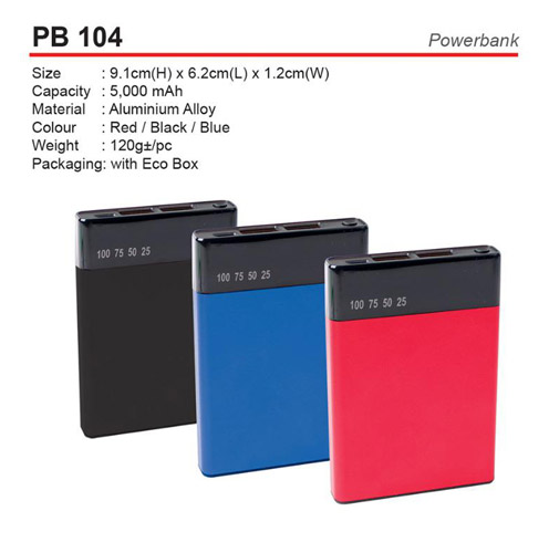 PowerBank with display (PB104)