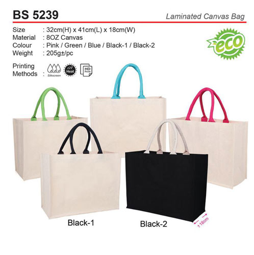 Laminated Canvas Bag (BS5239)