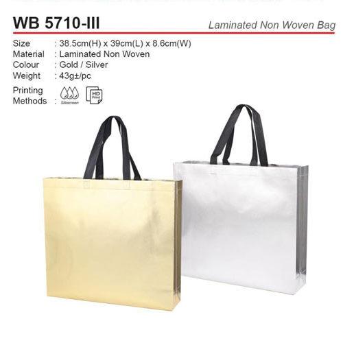 Laminated Non woven bag (WB5710-III)